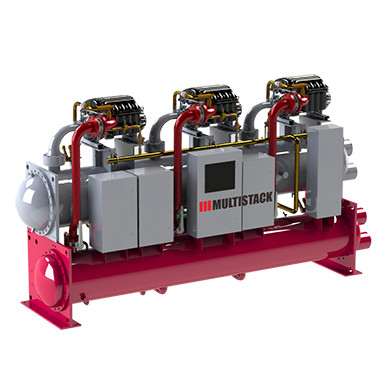 Multistack Oil Free Centrifugal Chillers And Modular